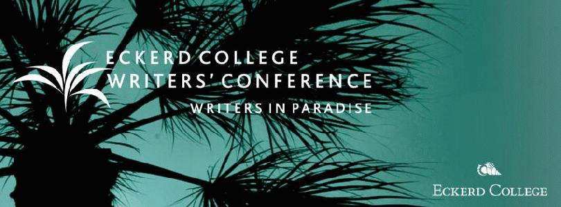 Eckerd College Writers' Conference: Writers in Paradise slideshow logo